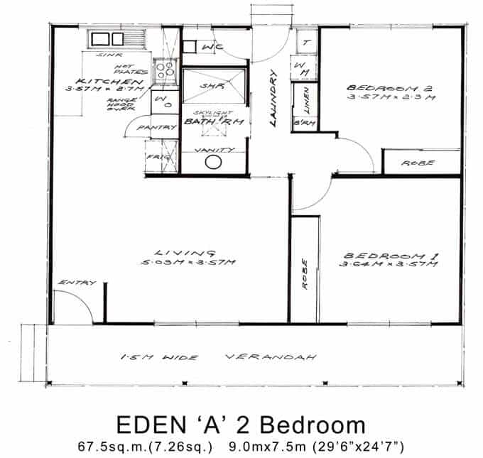 Eden 'A' 2 Bedroom