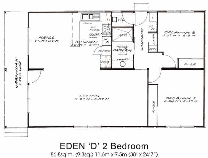 Eden 'D' 2 Bedroom