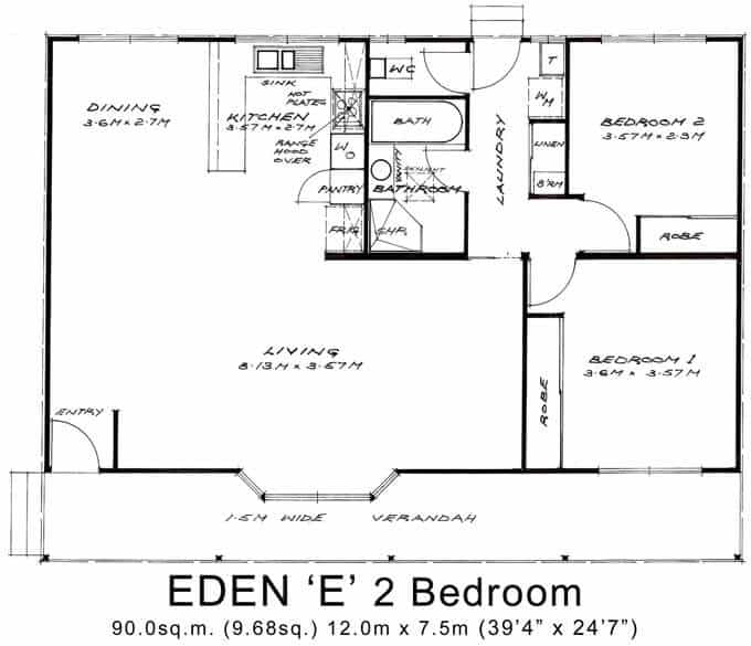Eden 'E' 2 Bedroom