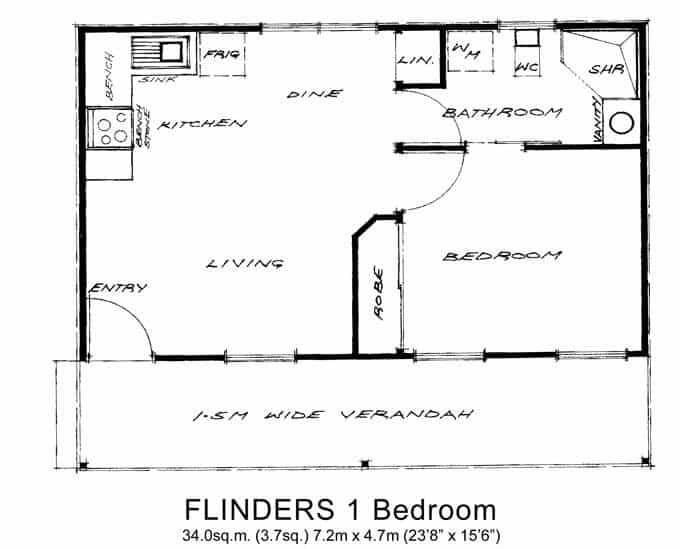 Flinders 1 Bedroom