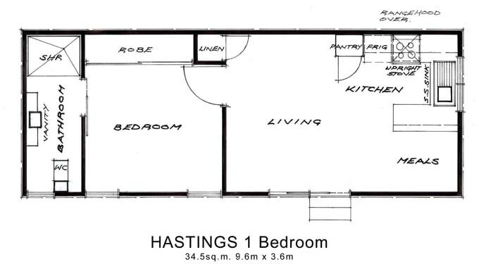 Hastings 1 Bedroom
